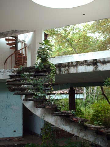 Manuel Noriega's House at Decameron Beach, Panama