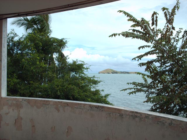 Ocean view, Manuel Noriega's house at Decameron Beach, Panama
