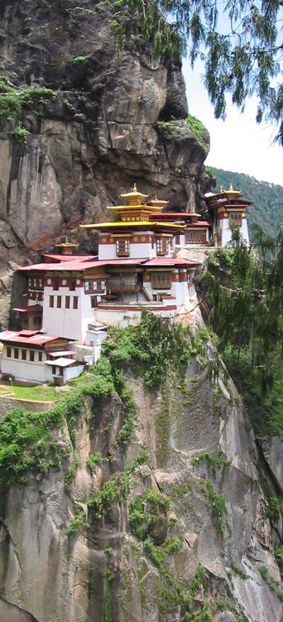 Taktshang Monastery, Tiger's Nest, near Paro, Western Bhutan