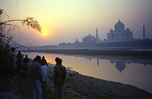 Taj Mahal, the wonder in white marble