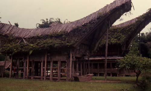 Traditional house style in Central Sulawesi, Tana Toraja