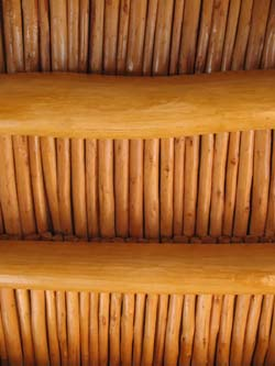 Ceiling in a Ladakh house