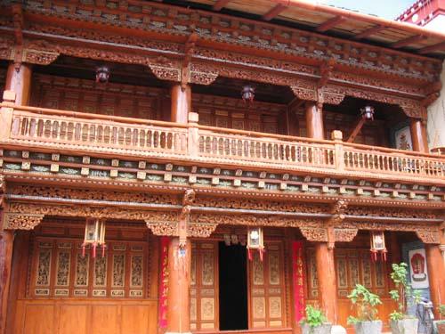 Tibetan house in Zhongdian