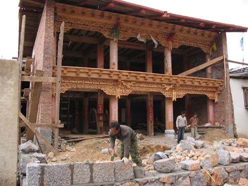 Kham house in Yunnan