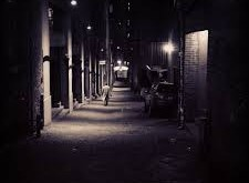 Alley Night Egypt