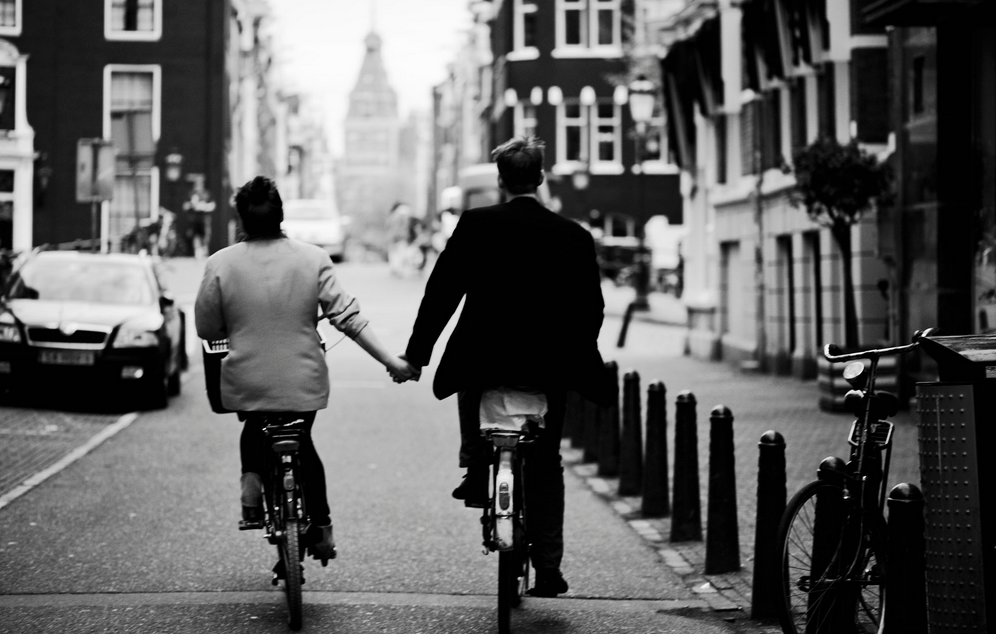 Couple paradise Amsterdam