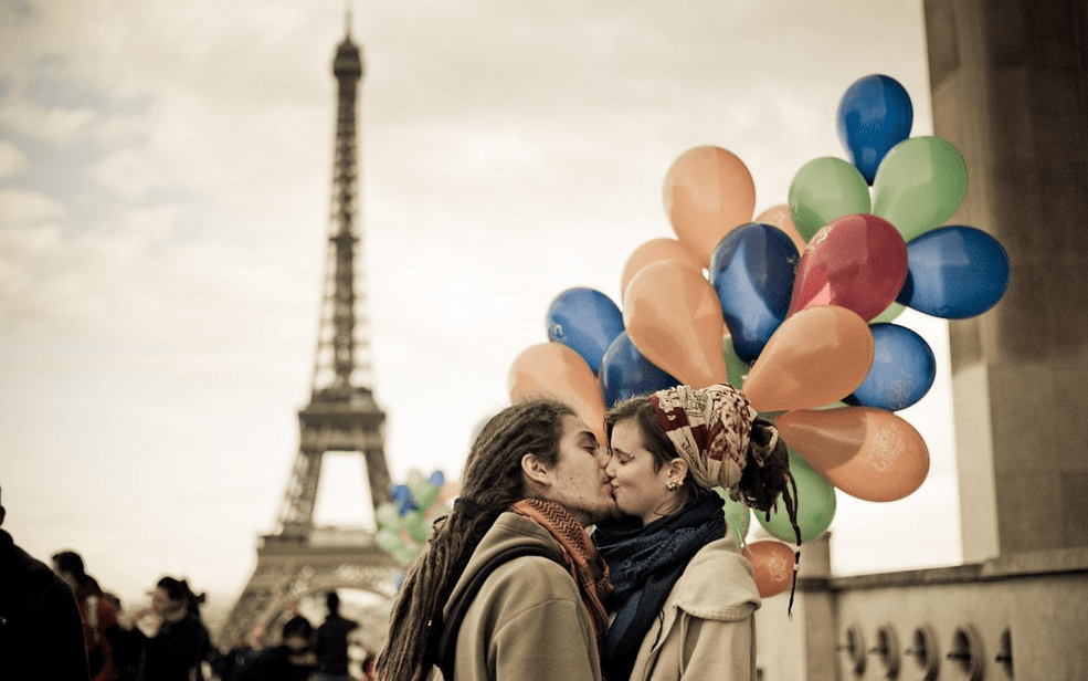 Valentine in paris Honeymoon destination