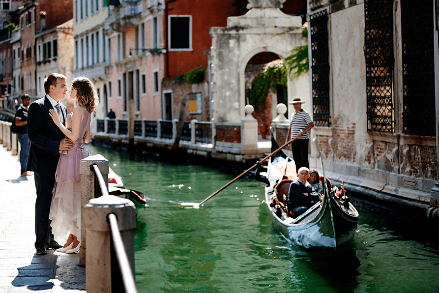 Venice Italy World no. 1 Honeymoon destination
