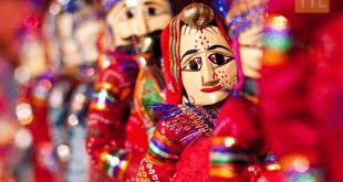 Jaipur puppets