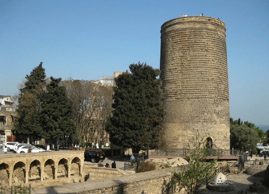 Maiden's tower or the virgin tower of Baku