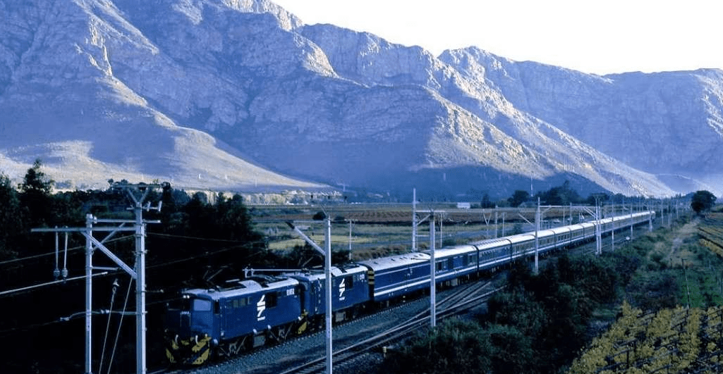 Blue Train of South Africa