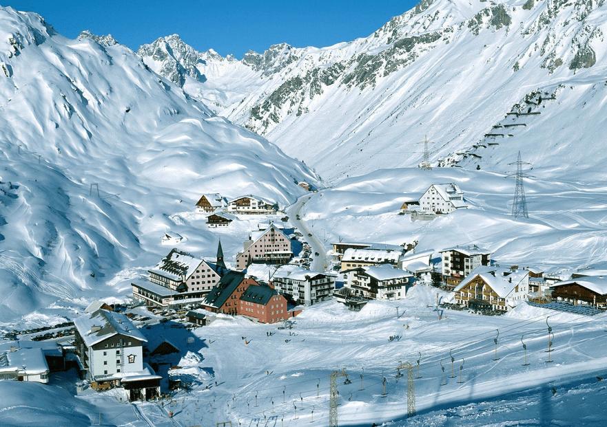 Arlberg Ski Resort - the Oldest ski club of the world