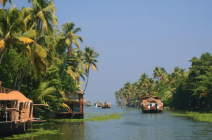 Astonishing Backwaters of Kerala