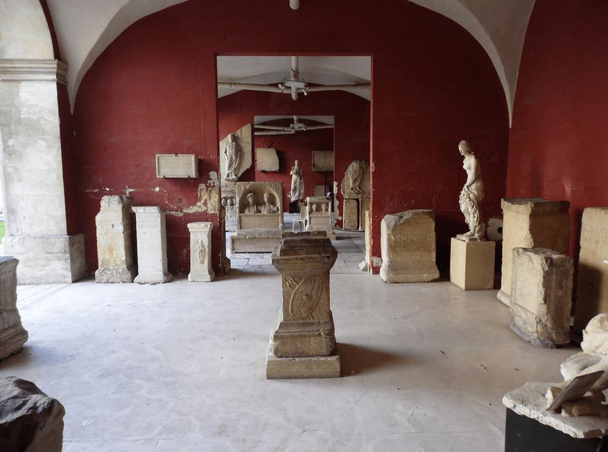 Musée Archéologique Nimes, France