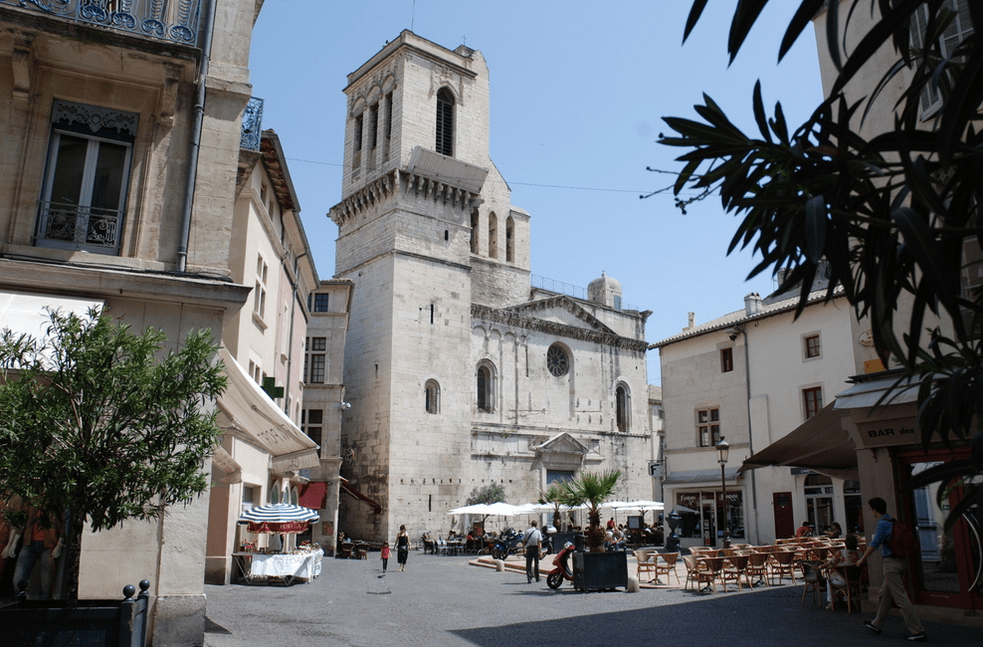 Nimes Cathedral, France