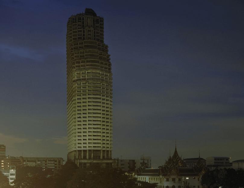 Sathorn Unique' Ghost Skyscraper