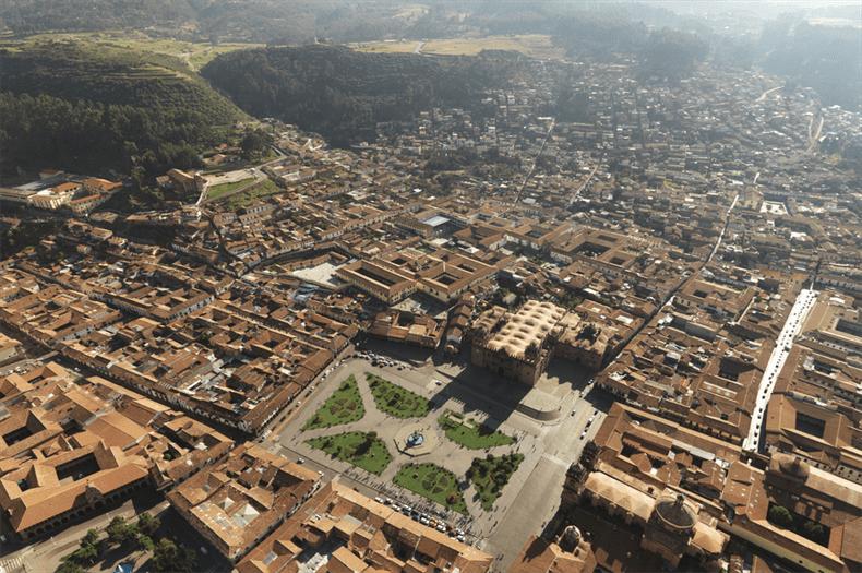 Cusco City in Peru