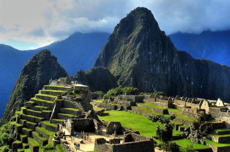 Machu Picchu on Inca Trail Peru
