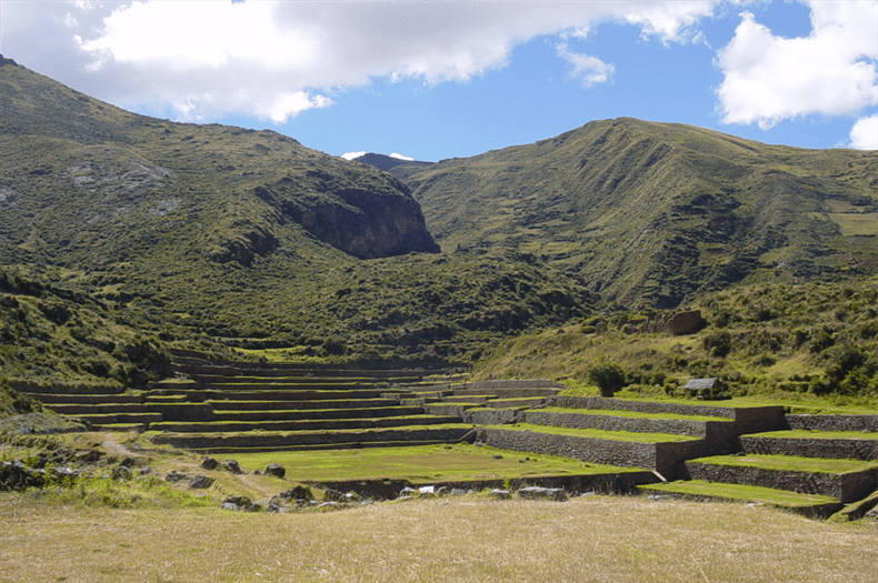 Tipon Cusco - Inca terraces Peru