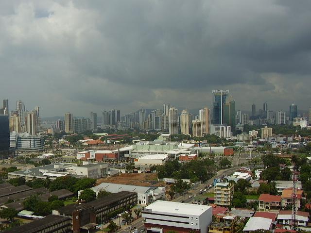 Panama City skyline from San Francisco