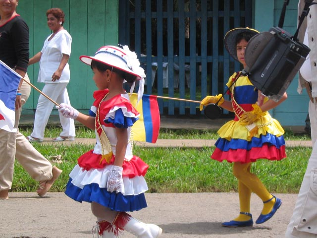 Panama's Independence Day parades