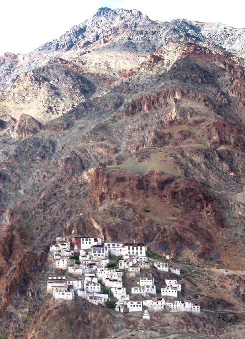 Karsha Monastery in Zanskar