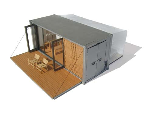 The shipping container house unit by BARK