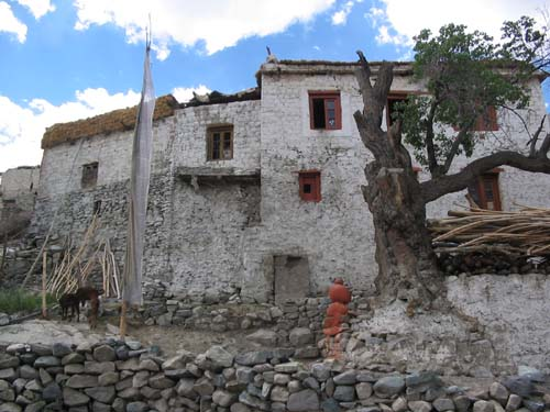 Ladakh house style in Nubra