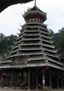 Wooden Drum Tower, Zaoxing