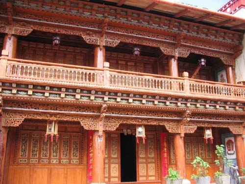 Tibetan house in Zhongdian