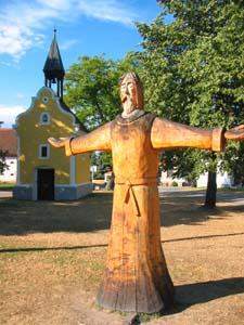 Holasovice village chapel