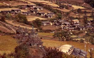 Lhomi village, upper Arun