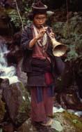 Lhomi monk