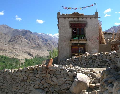 Ladakhi house
