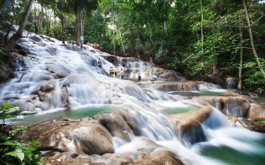 Dunn s River Falls - waterfall climbing Jamaica
