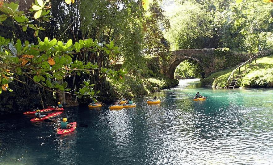 Ocho Rios - white water kayaking Jamaica