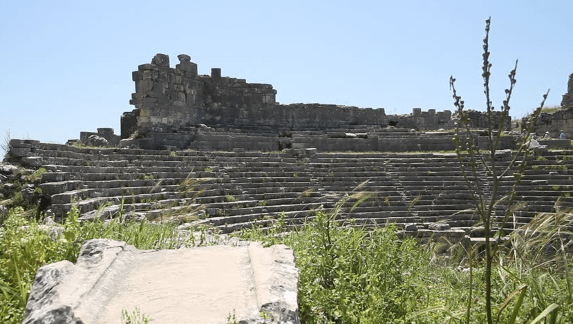 ruins of Xantho Turkey