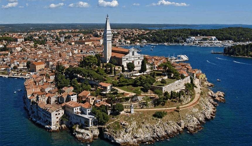 Rovinj Pula peninsula Croatia