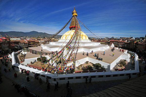 Buddhist gompa Kathmandu