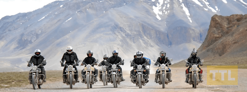 Guided Motorcycle Tour package