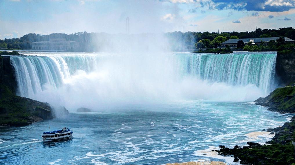 Niagara falls, Horseshoe falls, Ontario, Canada
