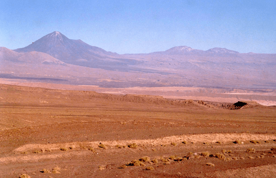 Aridity in Atacama