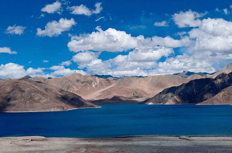 Pangong Lake of India