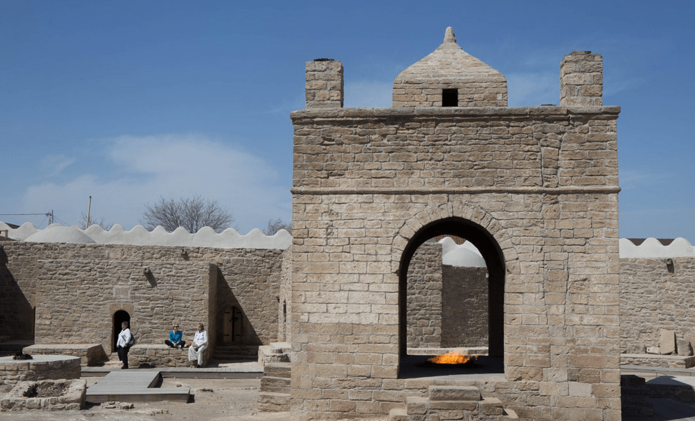 Ateshgah of Baku Azerbaijaan