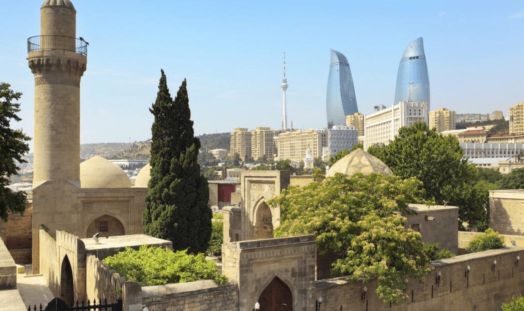 Palace of Shivranshahs in Baku city