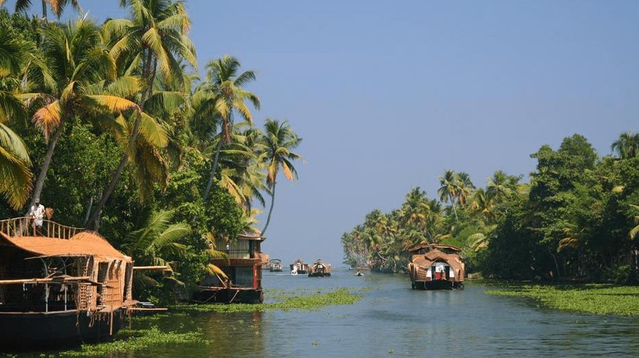 Astonishing Backwaters of Kerala