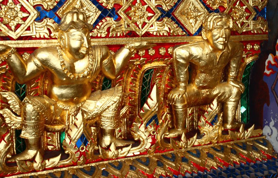 David Beckham Temple of Bangkok