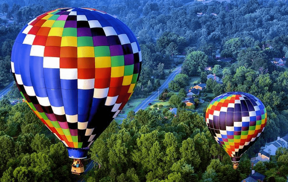 Hot Air Balloon Ride in Bath