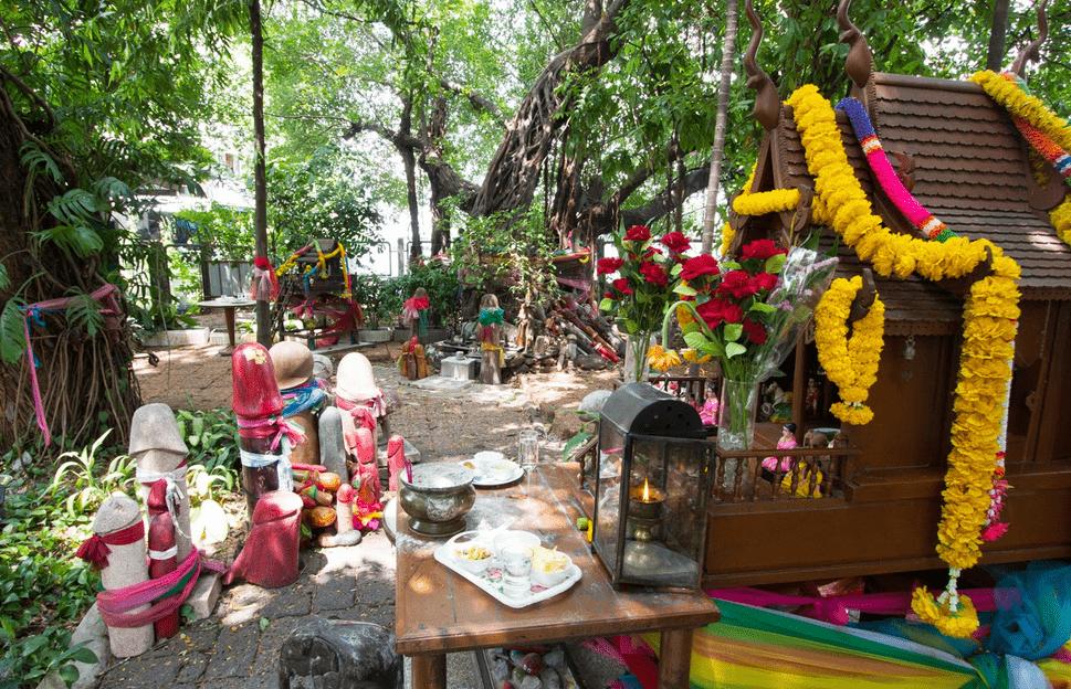 Phallic shrine of Bangkok, Thailand