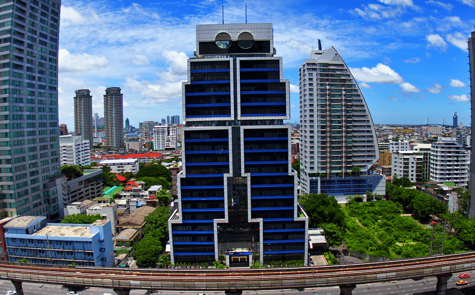 Robot building of Bangkok, Thailand